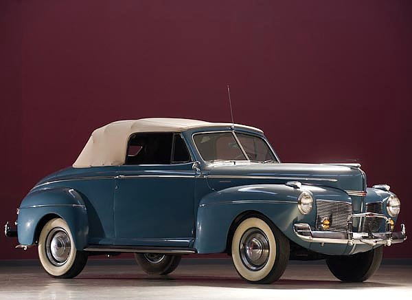 Mercury Eight Club Convertible Coupe (19A-76) '1941