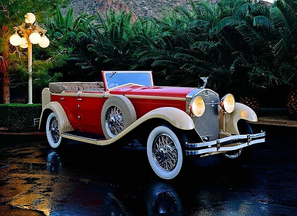 Isotta-Fraschini Tipo 8A Convertible Sedan by Castagna '1930