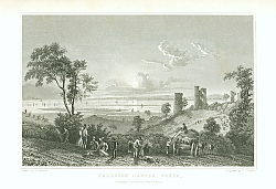 Постер Hadleigh Castle, Essex, Looking Toward Sheerness