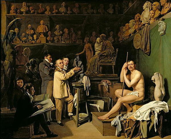 The Studio of Jean Antoine Houdon