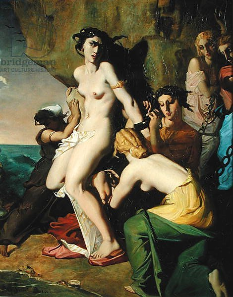 Andromeda Tied to the Rock by the Nereids, 1840