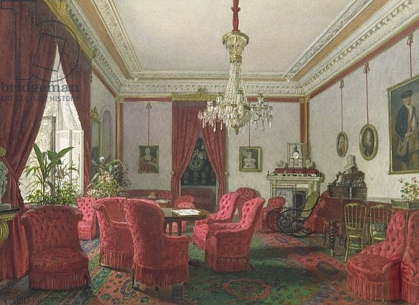 Reception Room in the Berlin Reich Chancellor's Palace