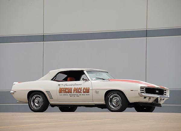 Chevrolet Camaro SS Convertible Indy 500 Pace Car (I) '1969
