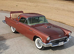 Постер Ford Thunderbird Rumble Seat '1957