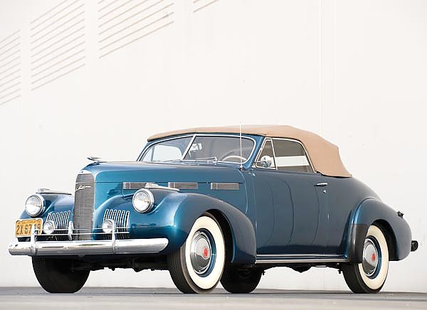 LaSalle Convertible Coupe (52) '1940