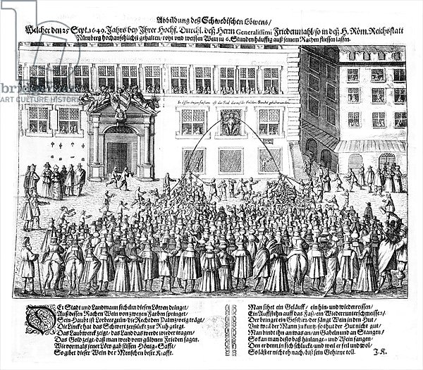 The Peace of Nuremberg, 25th September 1649