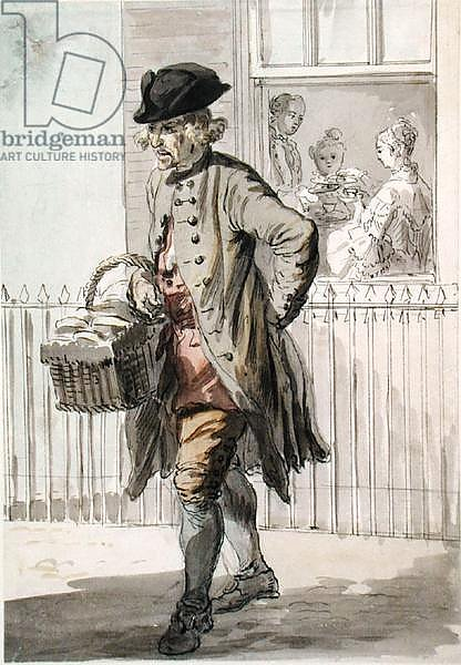 London Cries: A Muffin Man, c.1759