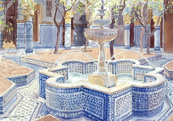 The Blue Fountain, 2000