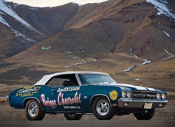 Chevrolet Chevelle SS 454 LS6 Convertible NHRA '1970