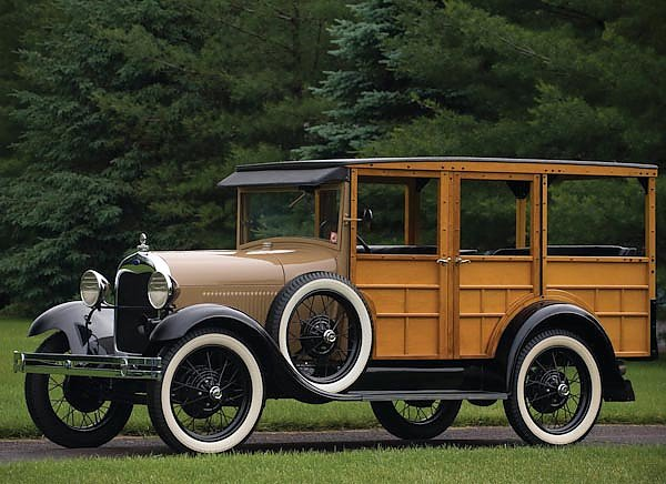 Ford Model A Woody Station Wagon '1929