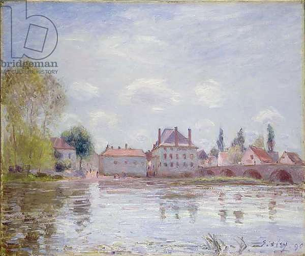The Bridge at Moret-sur-Loing, 1890