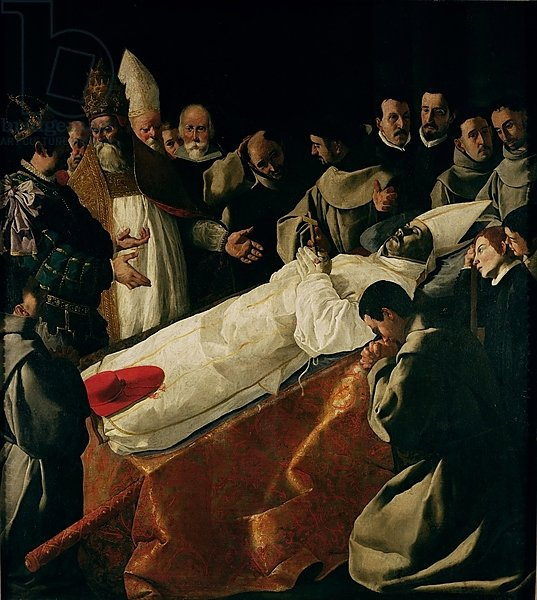 The Exhibition of the Body of St. Bonaventure after 1627