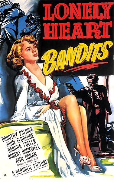 Film Noir Poster - Lonely Heart Bandits