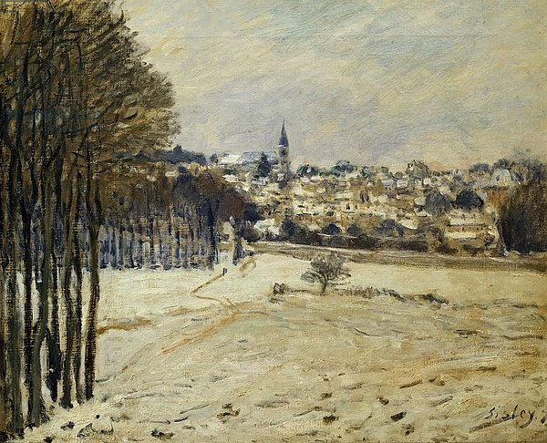 The Snow at Marly-le-Roi, 1875