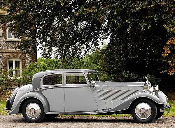Rolls-Royce Phantom Continental Sports Saloon by Thrupp & Maberly (II) '1932