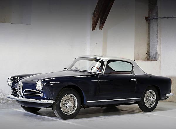 Alfa Romeo 1900 Super Sprint (1484) '1956–59 дизайн Touring