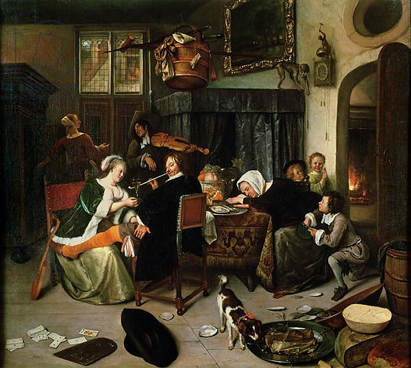 The Dissolute Household, 1668