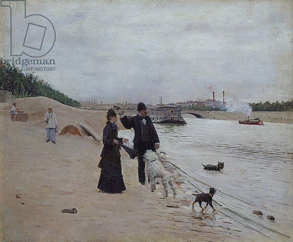 The Banks of the Seine, c.1880