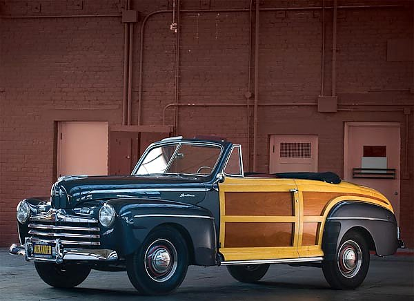 Ford Super Deluxe Sportsman Convertible '1946