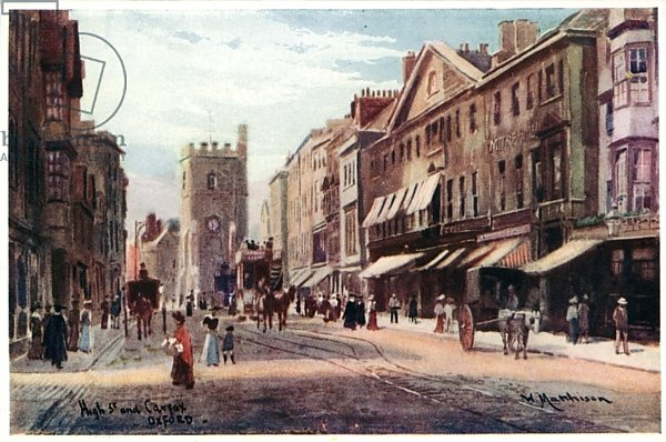 High Street, Carfax end