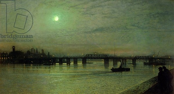 Battersea Bridge, 1885