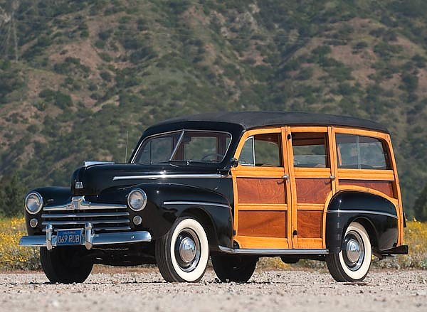 Ford Super Deluxe Station Wagon '1948