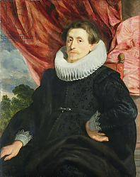 Постер Дик Энтони Portrait of a Man, c.1619