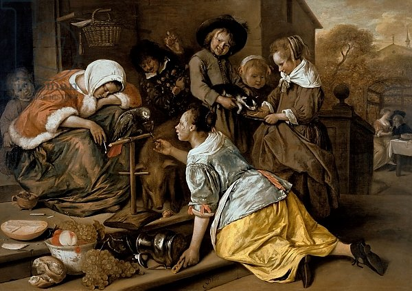 The Effects of Intemperance, c.1663-65