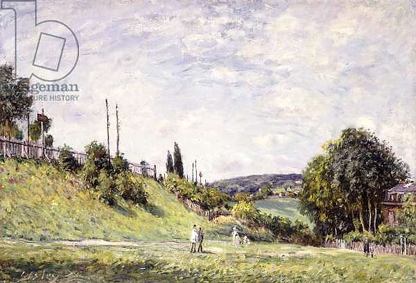 The Slope by the Railway in Sevres, 1879