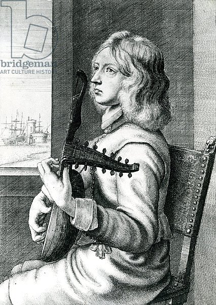 Baroque Lute player