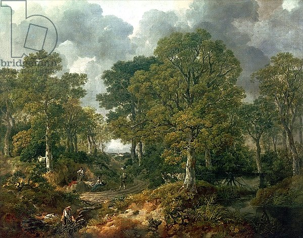 Gainsborough's Forest, c.1748
