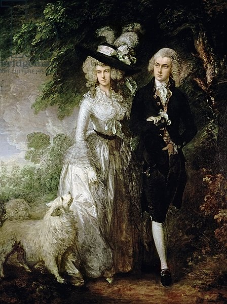 Mr and Mrs William Hallett, c.1785