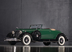 Постер Packard Super Eight Coupe Roadster '1934