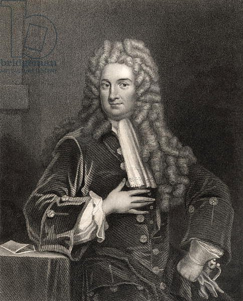 John Radcliffe, from 'The National Portrait Gallery, Volume I', c.1820