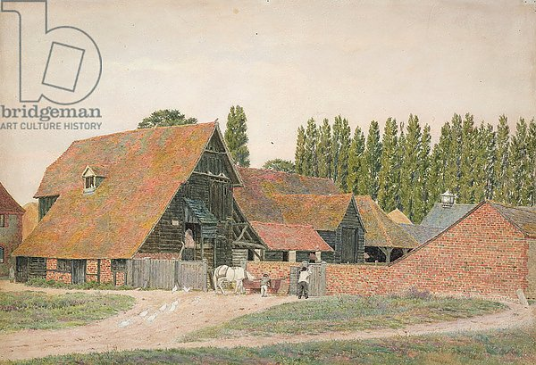 Farm Buildings, Dorchester, Oxfordshire
