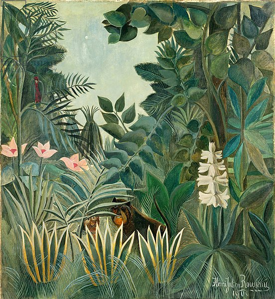 The Equatorial Jungle, 1909