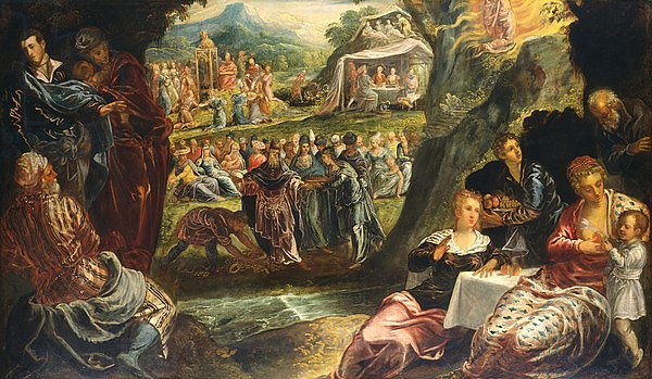 The Worship of the Golden Calf, c.1560