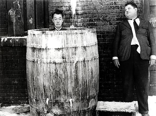 Laurel & Hardy (Below Zero)
