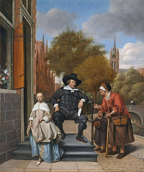 The Burgher of Delft and his Daughter, 1655
