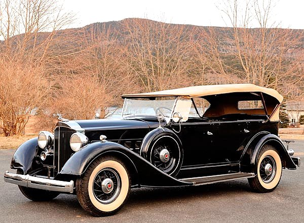 Постер Packard Eight 7-Passenger Touring (1101) '1934