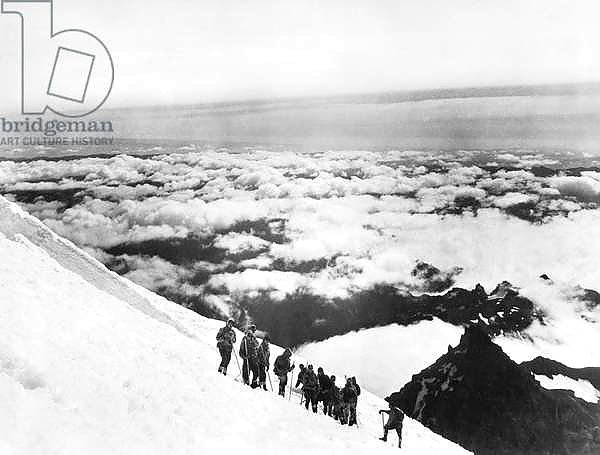 Cloud Vista From Mt. Rainier , United States, c.1927