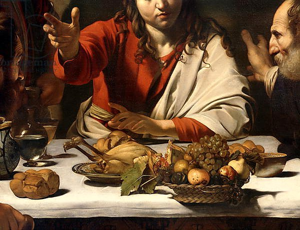 The Supper at Emmaus, 1601 4