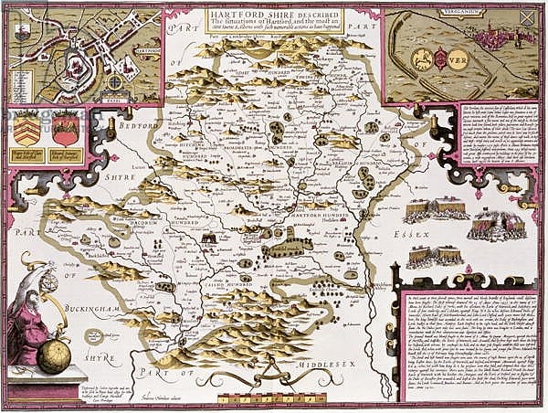 Hartfordshire and the situation of Hartford, 1611-12