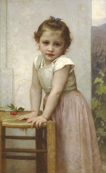 Постер Бугеро Вильям (Adolphe-William Bouguereau) Yvonne