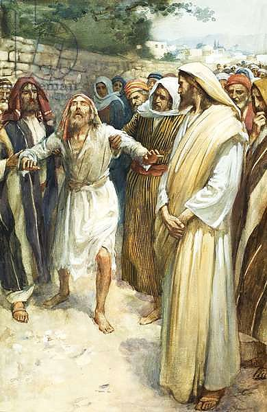 blind bartimaeus One of the last of jesus' miracles was the healing of blind bartimaeus near jericho about a week before his arrest martin collins shows that jesus' c.