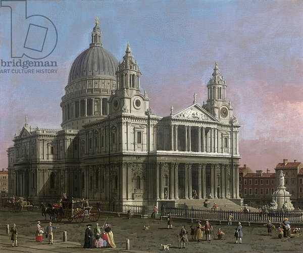 St. Paul's Cathedral, 1754