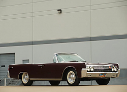 Постер Lincoln Continental Convertible '1962