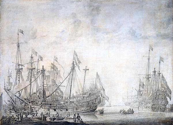 Ships after the battle