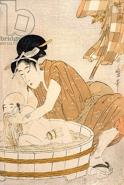 The Bath, Edo period