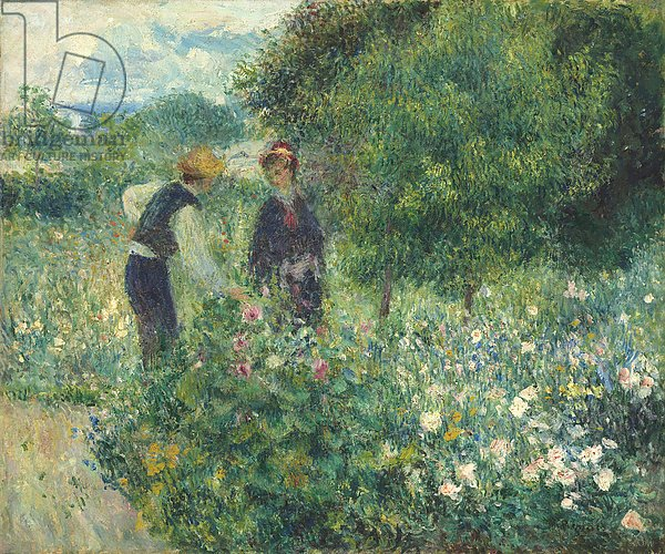 Picking Flowers, 1875